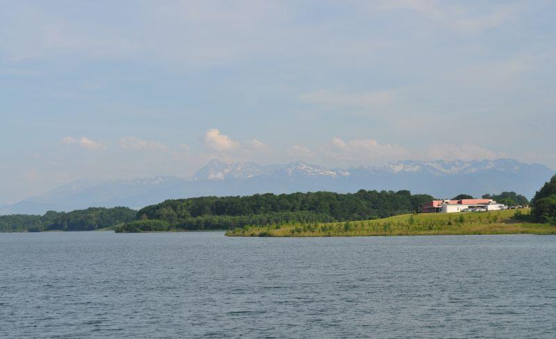Vues sur le lac lasalledulacdugabas